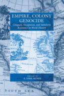 Empire  Colony  Genocide