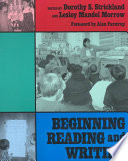 Beginning Reading and Writing Book