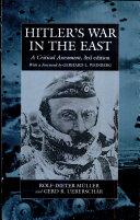 Hitler's war in the East, 1941-1945