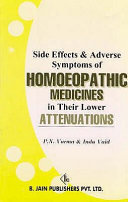 Side Effects   Adverse Symptoms of Homoeopathic Medicines in Their Lower Attenuations