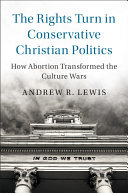 The Rights Turn in Conservative Christian Politics Pdf/ePub eBook