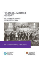 Pdf Financial Market History: Reflections on the Past for Investors Today Telecharger