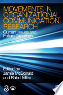 Movements in Organizational Communication Research