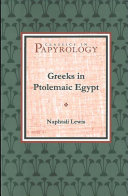 Greeks in Ptolemaic Egypt