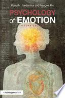 Psychology of Emotion Book