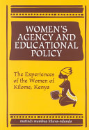 Women's Agency and Educational Policy