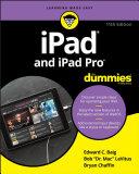 iPad and iPad Pro For Dummies [Pdf/ePub] eBook