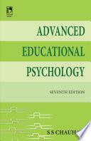 Advanced Educational Psychology, 7E