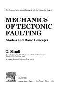 Mechanics of Tectonic Faulting