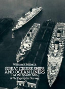 Great Cruise Ships and Ocean Liners from 1954 to 1986 Book