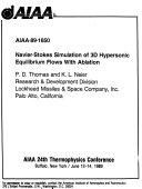 AIAA 24th Thermophysics Conference