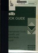 Aslib Book Guide