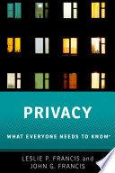 link to Privacy : what everyone needs to know in the TCC library catalog