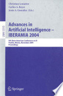 Advances in Artificial Intelligence -- IBERAMIA 2004