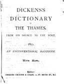 Dickens S Dictionary Of The Thames From Its Source To The Nore 1893