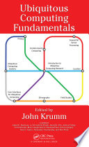 Ubiquitous Computing Fundamentals Book
