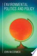 Environmental Politics And Policy Book PDF