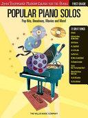 Popular Piano Solos First Grade