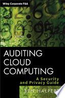 Auditing Cloud Computing Book