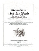 Bartolozzi and His Works