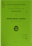 Annals of Lincei, physical and natural sciences