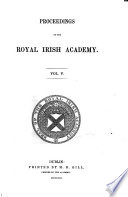 Proceedings of the Royal Irish Academy
