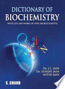 Dictionary of Biochemistry Book