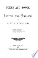 Poems and Songs, in Scotch and English