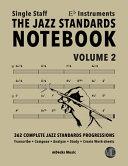 The Jazz Standards Notebook Vol 2 Eb Instruments Single Staff Book PDF