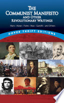 """""""The Communist Manifesto and Other Revolutionary Writings: Marx, Marat, Paine, Mao Tse-Tung, Gandhi and Others"""" by Bob Blaisdell"""