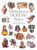 Old Fashioned Holiday Stickers