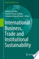 International Business Trade And Institutional Sustainability Book PDF