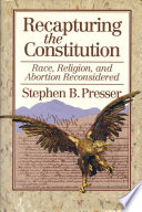 Recapturing the Constitution