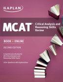 Kaplan MCAT Critical Analysis and Reasoning Skills Review