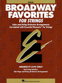 Essential Elements Broadway Favorites for Strings   Violin 1 2 Book PDF