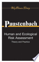 Human and Ecological Risk Assessment Book