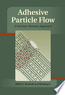 Adhesive Particle Flow