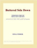Download Buttered Side Down (Webster's French Thesaurus Edition) Book