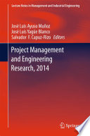 Project Management and Engineering Research  2014 Book