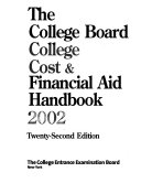 The College Board College Cost   Financial Aid Handbook