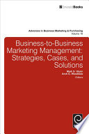 Business To Business Marketing Management Book PDF