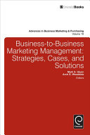 Business-to-Business Marketing Management