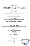 Hausschatz englischer Poesie