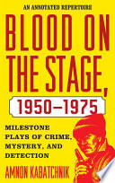 Download Blood on the Stage, 1950-1975 Pdf