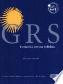 Geriatrics Review Syllabus Book PDF