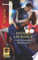 Undeniable Demands Book