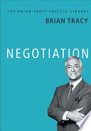 NEGOTIATION: Brian Tracy Success Library