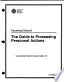 The Guide to Processing Personnel Actions Book
