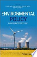 Environmental Policy Book