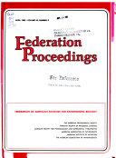 Federation Proceedings Book PDF